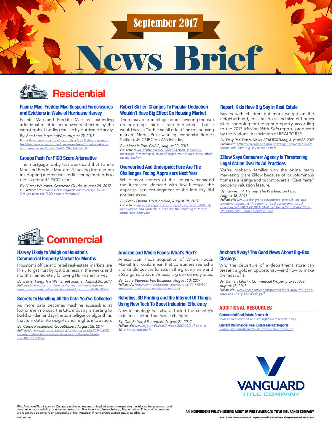 The September News Brief Has Arrived!