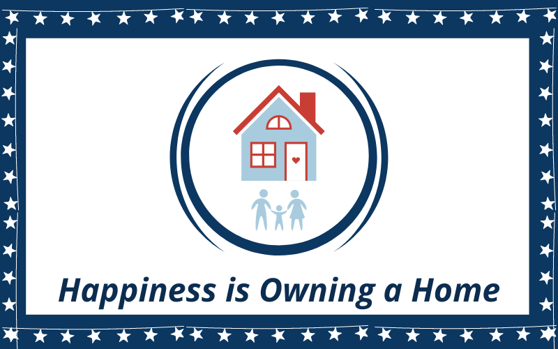Happiness is Owning a Home